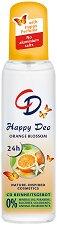 Спрей дезодорант с аромат на портокалов цвят - душ гел