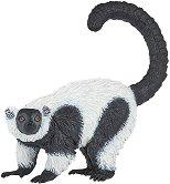 """Черно-бял лемур - Фигура от серията """"Диви животни"""" -"""