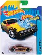 """Muscle Tone - Метална количка от серията""""Hot Wheels: Colour Shifters"""" - продукт"""
