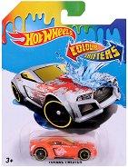 """Torque Twister - Метална количка от серията """"Hot Wheels: Colour Shifters"""" - играчка"""