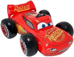 """Надуваема количка - Маккуин Светкавицата - Детска играчка от серията """"Колите"""" -"""