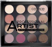 Catrice Professional Artist Eyeshadow Palette - Палитра с 16 цвята сенки за очи - продукт