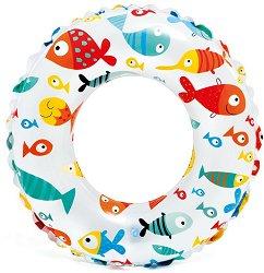 Надуваем детски пояс  - Подводен свят - басейн