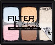 Catrice Filter In A Box Photo Perfect Finishing Palette - Палитра за контуриране на лице -