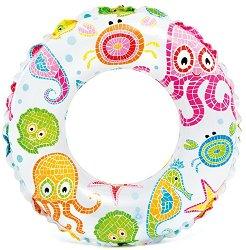 Надуваем детски пояс  - Морско дъно - играчка