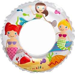 Надуваем детски пояс  - Русалки - играчка