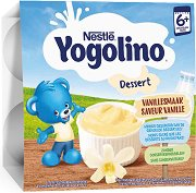 Nestle Yogolino - Млечен десерт ванилия - Опаковка от 4 х 100 g за бебета над 6 месеца - продукт