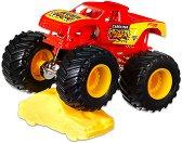 """Бъги - Carolina Crusher - Комплект за игра от серията """"Hot Wheels: Monster Jam"""" - играчка"""