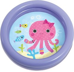 Надуваем бебешки басейн - Октопод -