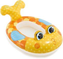 Надуваема детска лодка - Рибка -