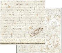 Хартия за скрапбукинг - Церемония - Размери 30.5 х 30.5 cm