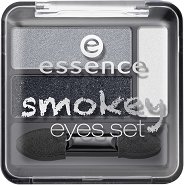 Essence Smokey Eyes Set - Палитра сенки за опушен грим - молив