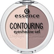 Essence Contouring Eyeshadow Set - Палитра сенки за контуриране на очи - шампоан