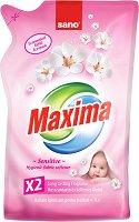 Омекотител за бебешки дрехи - Sano Maxima Sensitive - Опаковка от 1 l, 2 l или 4 l -