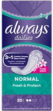 Always Dailies Fresh & Protect Normal - лак