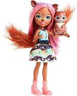 Enchantimals - Санча Скуиръл - Кукла с фигурка - кукла