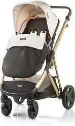 Комбинирана бебешка количка - Sensi - С 4 колела -