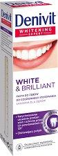 Denivit White & Brilliant Toothpaste - Избелваща паста за зъби - червило