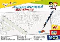 Скицник за рисуване - Gimboo - Формат A4