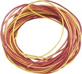 Памучен шнур - оранжев - Комплект от 3 броя