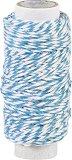 Памучен шнур туист - син - Дължина 20 m