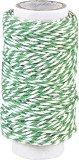Памучен шнур туист - тъмно зелен