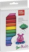 Пластилин - Комплект от 12 цвята