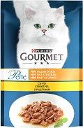 Gourmet Perle with Chicken - Пилешко месо в сос за котки в зряла възраст - пауч 85 g -