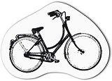 Силиконов печат - Велосипед - Размери 4.7 x 3 cm