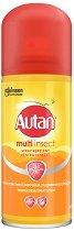 Autan Protection Plus Spray - Спрей за тяло против комари - мокри кърпички