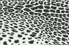 Декоративен филц - Леопард - Размери 30 х 45 cm