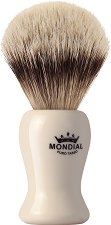 Четка за бръснене с естествен косъм от супер язовец -