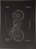 Скицник за рисуване - Размери 21 х 28.5 cm