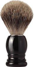 Четка за бръснене с естествен фин косъм от язовец -
