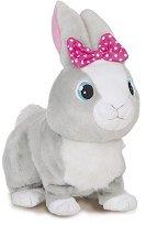Зайчето Бетси - Ходеща интерактивна играчка със звуков ефект - играчка