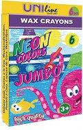Восъчни пастели - Jumbo - Комплект от 6 цвята