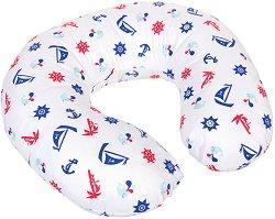 Възглавница за кърмене - Морски мотиви -