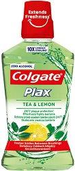 Colgate Plax Tea & Lemon Mouthwash - Вода за уста за ежедневна употреба с чай и лимон - паста за зъби