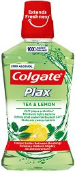 Colgate Plax Tea & Lemon Mouthwash - Вода за уста за ежедневна употреба с чай и лимон - паста за зъби