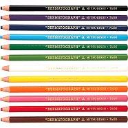 Маслени моливи - Dermatograph - Комплект от 12 цвята