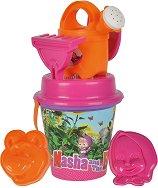 Комплект за игра с пясък - Маша и мечока - играчка