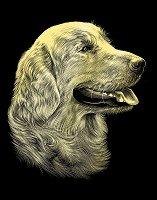 Куче - Скреч картина с размери 20 x 25 cm