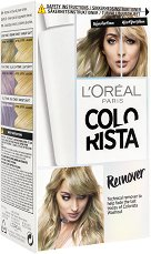 """L'Oreal Colorista Remover - Комплект за премахване на временна боя от серията """"Colorista"""" - мляко за тяло"""