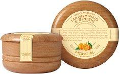 Mondial Mandarine & Spice Luxury Shaving Cream - Луксозен крем за бръснене с аромат на мандарина и подправки -