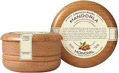 Mondial Almond Luxury Shaving Cream - Луксозен крем за бръснене с аромат на бадем -