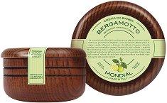Mondial Bergamot & Neroli Luxury Shaving Cream - Луксозен крем за бръснене с аромат на бергамот и нероли -