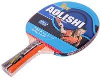 Хилка за тенис на маса - Aolishi - С кожен калъф - детски аксесоар
