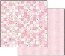 Хартии за скрапбукинг - Baby Girl - Размери 30.5 х 30.5 cm