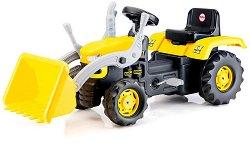 Детски трактор с педали и кофа -