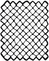 Шаблон - Мрежа - Размери 20 х 25 сm